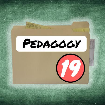 Thing 19: Pedagogy