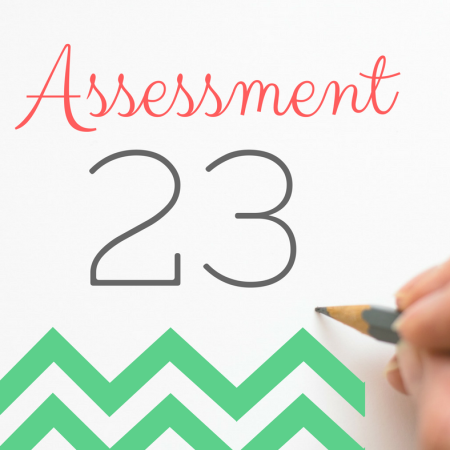 Thing 23: Assessment